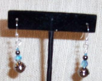 Shades of Blue & Grey Earrings