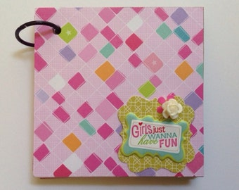Girls! Mini ScrapBook