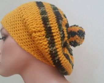 Slauchy ctochet hat