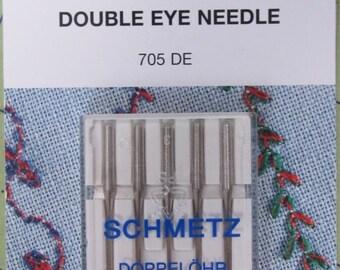 Schmetz double eye needle #1822