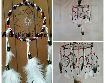 Dream Catcher Mobile , Eagle Feather Mobile