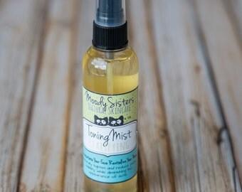 Oily Skin Clarifying Facial Toning Mist - Organic Witch Hazel Face Toner Oily Skin- Face Toner for Oil control