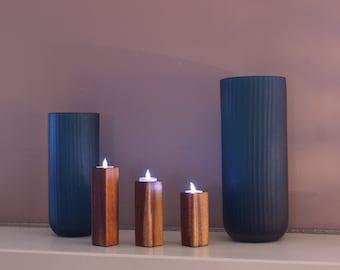 Koa Tea Light Trio