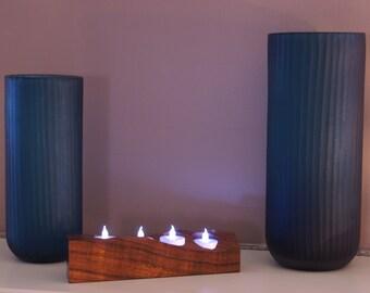Koa Four Candle/Tea Light Holder