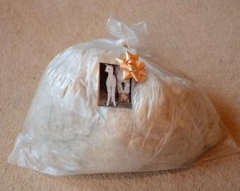 Raw alpaca fiber (8 oz)