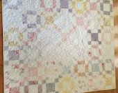 Whitewashed Cottage Lap Quilt
