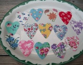 Feedsack Hearts, Floral,/Applique
