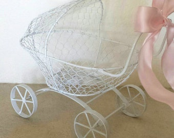 Baby Shower Card Holder, Baby Carriage
