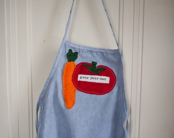 Grow Your Own kids apron