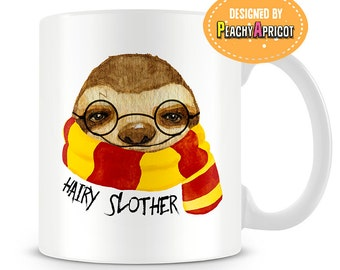 Hairy Slother coffee mug - Sloth Mug