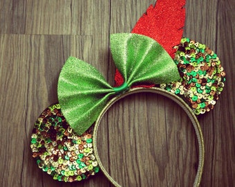 Peter Pan inspired Mickey Mouse Ears Disney