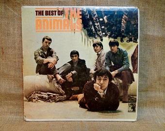 The Animals - The Best of the Animals - 1967 Vintage Vinyl Record Album