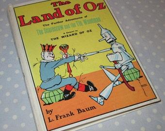 The Land of OZ by L Frank Baum Vintage Children's Book