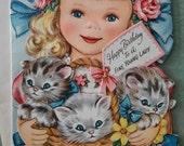 Vintage Birthday card 1940s on Etsy