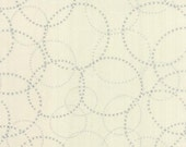"End of Bolt 1 Yard 8"" of Modern Background Paper Graphite Eggshell XOXO by Brigitte Heitland of  Zen Chic for Moda"