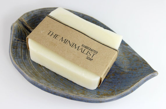 Unscented Cold Process Soap, Minimalist