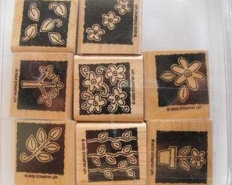 Stampin Up - Stamp Set - Garden Blocks - Set 47