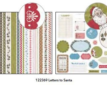 Stampin' Up! Letters to Santa Quick Accents Self-Adhesive Die Cuts