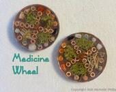 Medicine Wheel Orgonite - Seven Sacred Directions - Five Elements - Medicine Wheel Teachings - Orgone Energy Generator