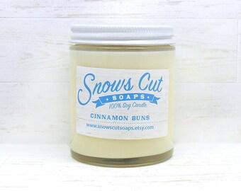 Cinnamon Buns Soy Candle - Fresh Baked Cinnamon Buns Soy Candle