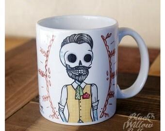 """Dead Hipster """"Chris"""" Mug"""