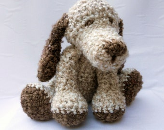 Crochet Dog SUPERSOFT