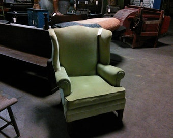 Unique Wing Back Chair Related Items Etsy