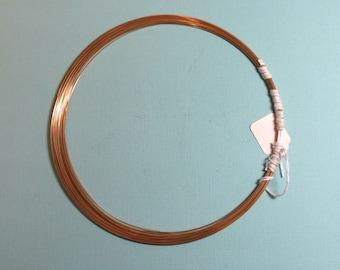 5 Feet 24ga Gold-Filled Wire - Round, Half Hard