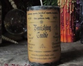Banishing Candle – Pagan Supplies, Wiccan Supplies, Witchcraft Supplies, Spell Casting Supplies, Ritual Candles, Dressed Candles