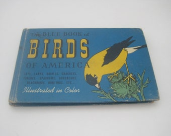 The Blue Book of Birds of America