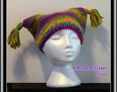 CLEARANCE! Tassled Sack Hat
