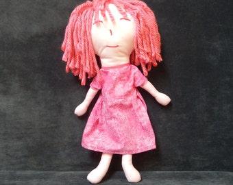 Pink Rag Dolls - LisaPing