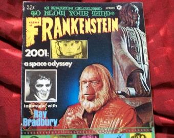 Castle Of Frankenstein 1969 Star Trek Barbarella Planet Of The Apes Kubrick Bradbury Brunner Carnak Dark Shadows Rosemarys Baby Horror SciFi