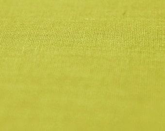 Soft linen fabric Mustard yellow linen fabric by half yard