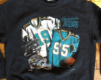 1993 NFL Jacksonville Jaguars sweatshirt USA L