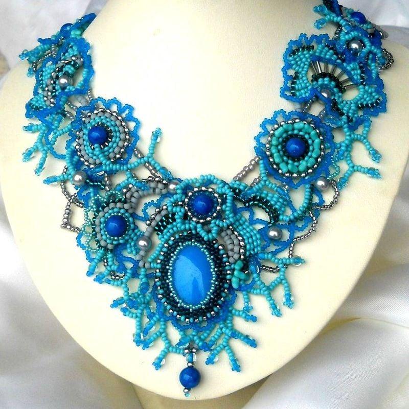 Unique Jewelry: Handmade Beaded Jewelry For Women Statement Jewelry By Ibics