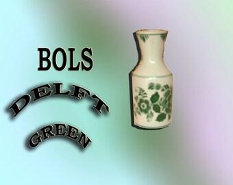 Bols Delft Green Liqueur Carafe