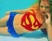Super Kini HERO-KINI by Sci Feye Candy a tribute to the Man of Steel