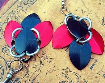 Scale Mail Earrings