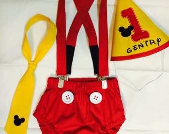 Birthday outfit with mickey