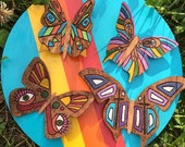 Hand Painted Butterfly Collection