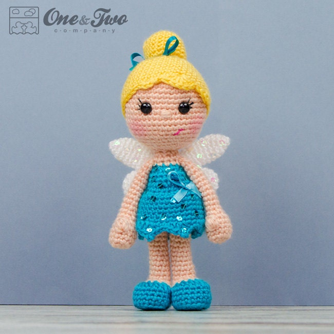 Ella the Fairy Amigurumi PDF Crochet Pattern Instant