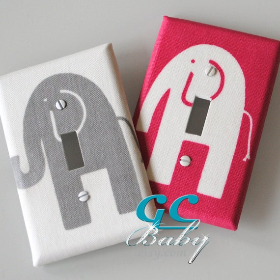 Elephant Light Switch Outlet Covers Many Styles And Fabric
