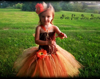 Scarecrow Costume - Halloween Costume - Toddler Halloween Tutu Costume - 6 months 9 months 12 months 18 months 2T 3T - Tutu Costume