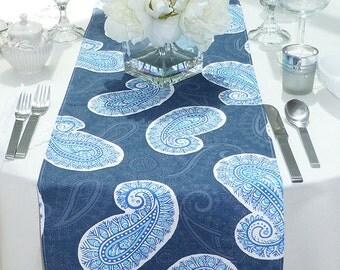 Choose Your Table Runner, Blue Table Runner   Blue Wedding Linens   Blue  Table Topper