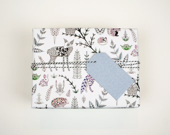 Geo Forest Wrapping Paper