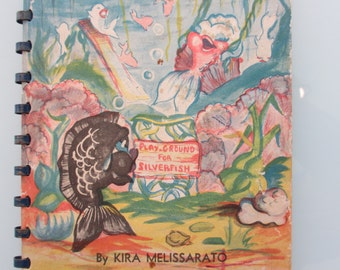 Vintage Wee Fishie Wun Book by Kira Melissarato