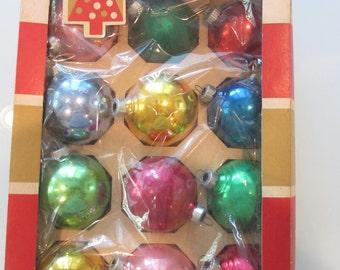 Vintage Glass Christmas Ball Lot