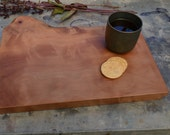 Pacific Madrone slab with live edge