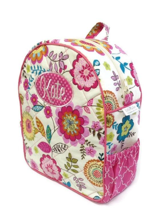 Personalized Toddler Backpack Girls Backpack Toddler